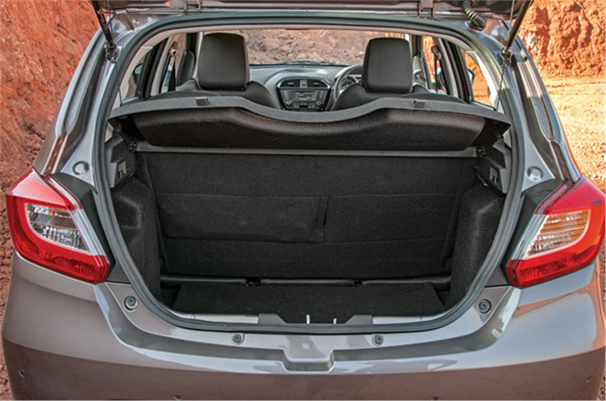 240-litre boot capacity can be further increased by flipp...