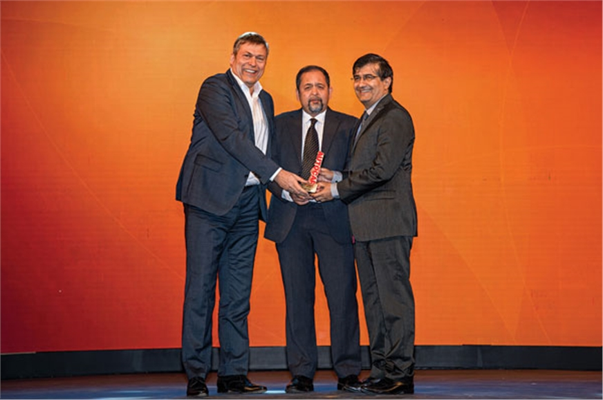 Tata Motors MD & CEO Guenter Butschek and Mayank Pareek, ...