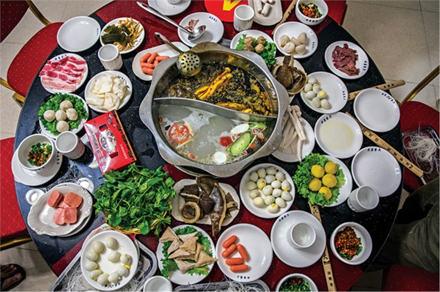 Chinese hotpot is quite a treat; choose your ingredients,...