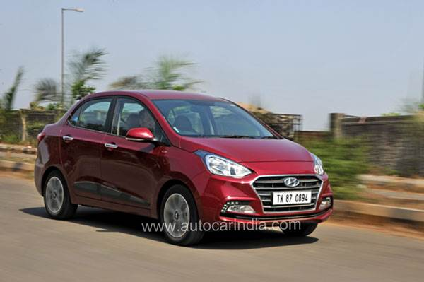 2017 Hyundai Xcent facelift review, test drive