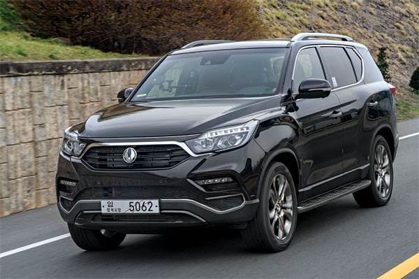 2017 SsangYong G4 Rexton review, test drive