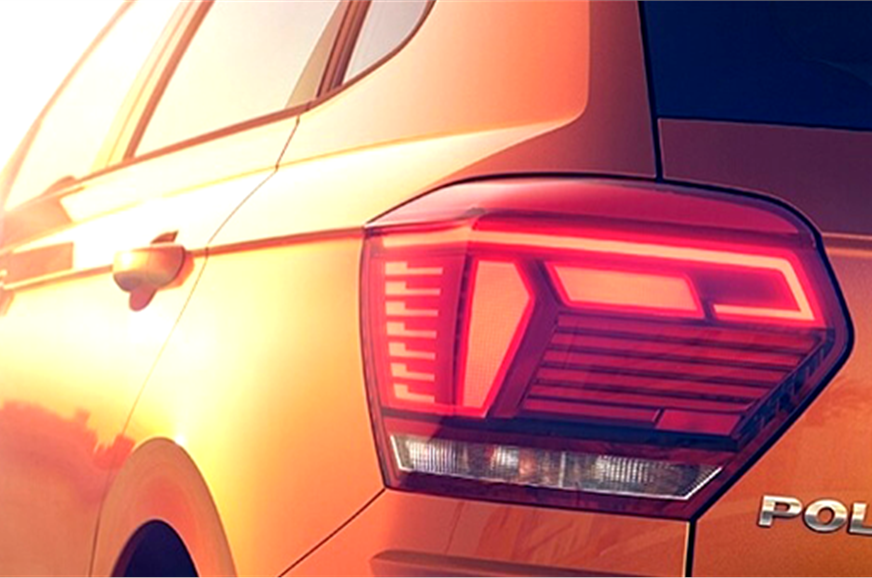 New Volkswagen Polo official teaser.