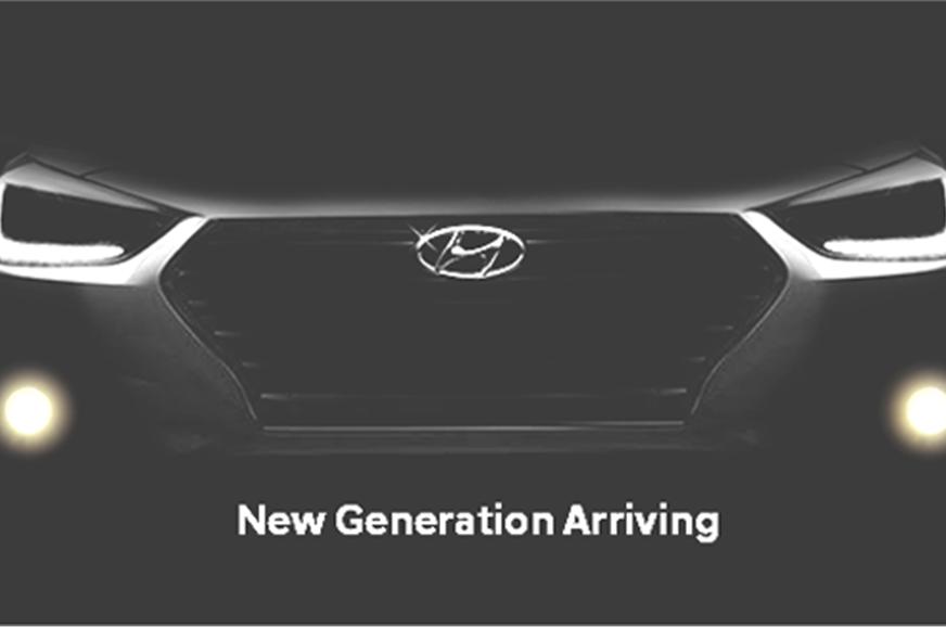 New Hyundai Verna official teaser.