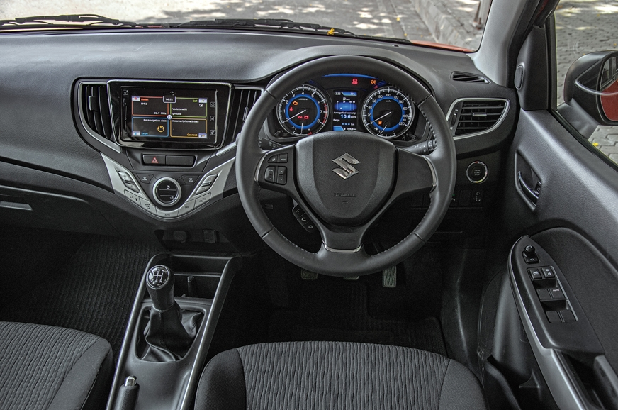 Cabin identical to standard Baleno. Overall quality is go...