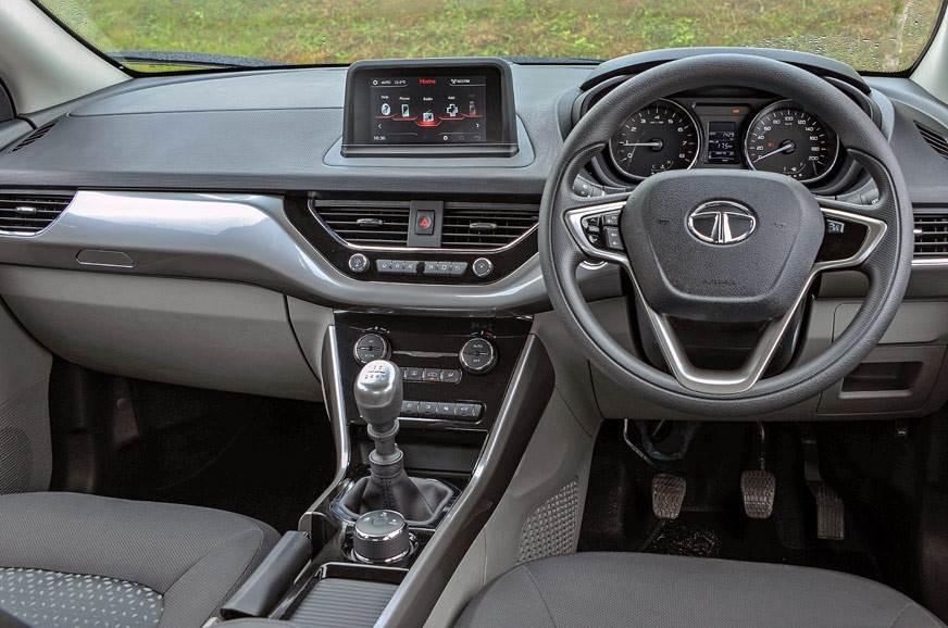 Tata Nexon Interiors , Picture Credits : Autocar India