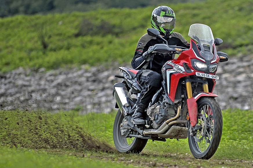 2017 Honda Africa Twin DCT review, test ride