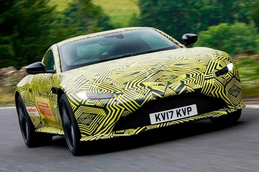 Next-gen Aston Martin Vantage teased in near-production form
