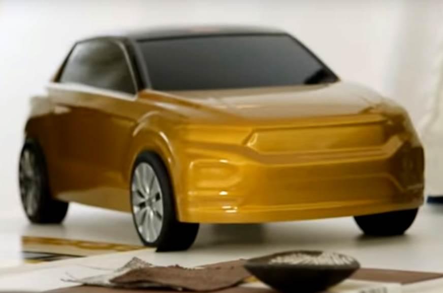 Volkswagen T-Roc SUV teased ahead of August 23 debut
