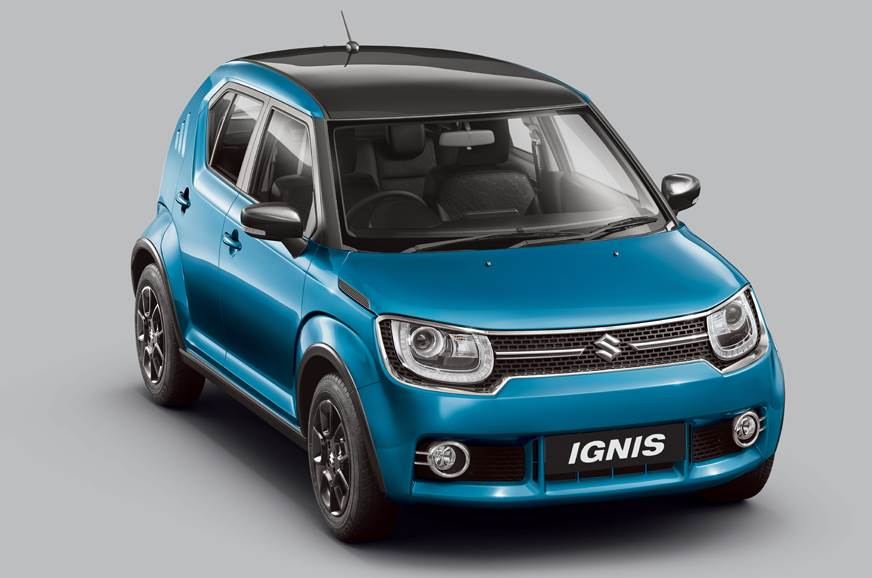 2017 Maruti Ignis Alpha AMT launched at Rs 7.01 lakh
