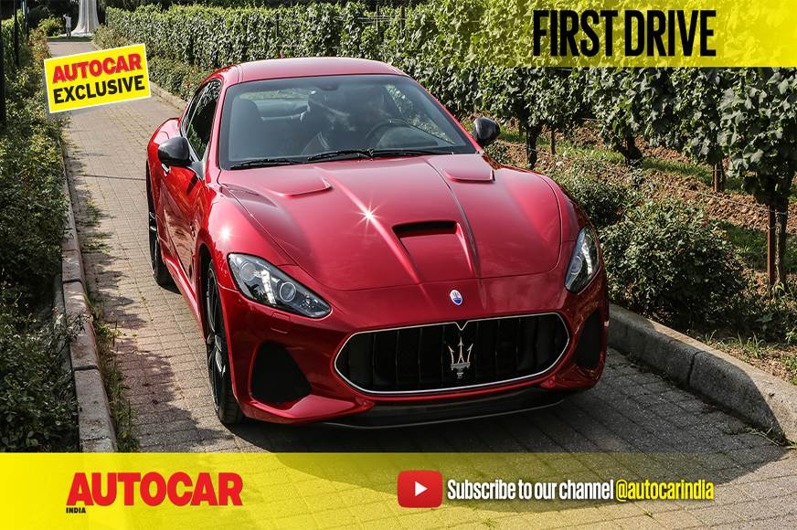 2017 Maserati GT video review