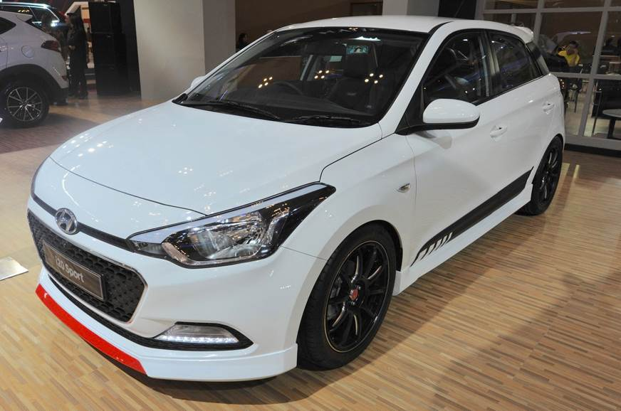 2017 Hyundai i20 Sport showcased in Indonesia