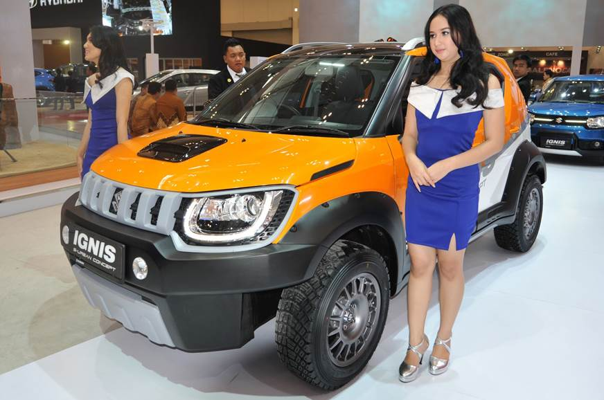 Suzuki showcases two Ignis-based concepts in Indonesia