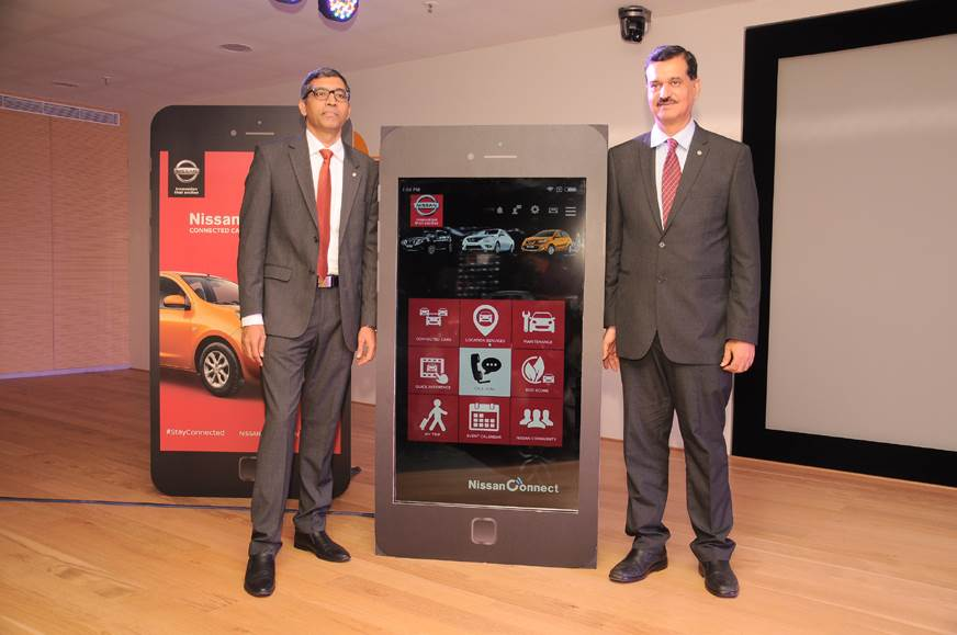 Nissan launches connected car technology in India