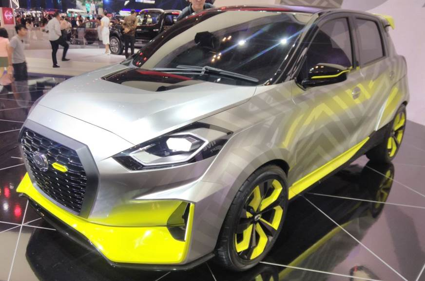 Datsun GO Live concept showcased in Indonesia