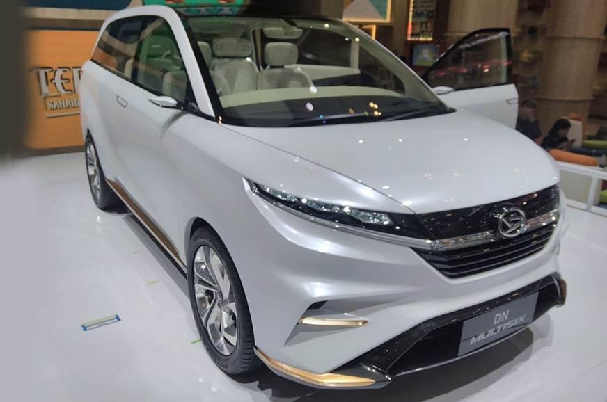 Daihatsu DN Multisix MPV concept unveiled