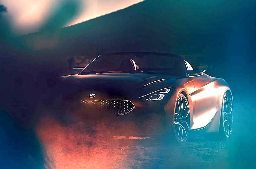 Next-gen BMW Z4 concept partially revealed