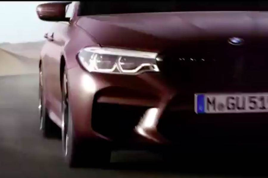 2017 BMW M5 previewed ahead of August 21 reveal
