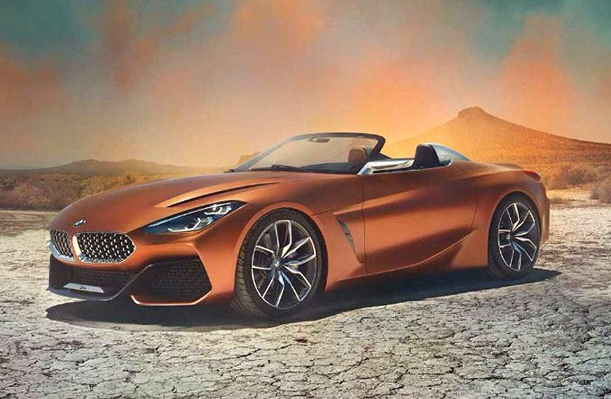 BMW Z4 Concept images leaked ahead of unveil