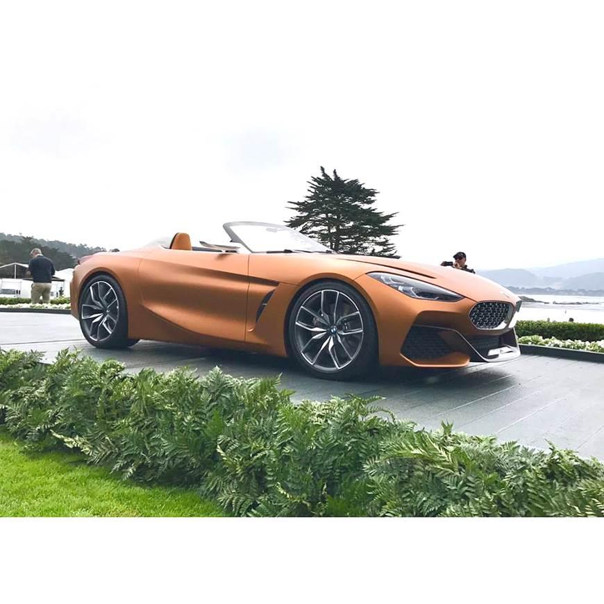 New BMW Z4 concept revealed