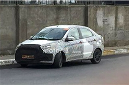Ford Aspire facelift spied