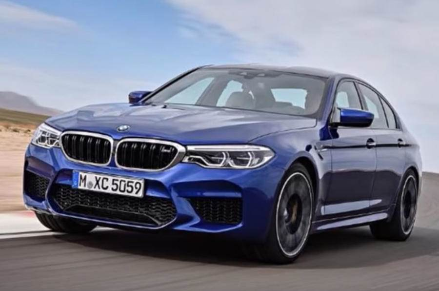 Next-gen BMW M5 leaked before debut