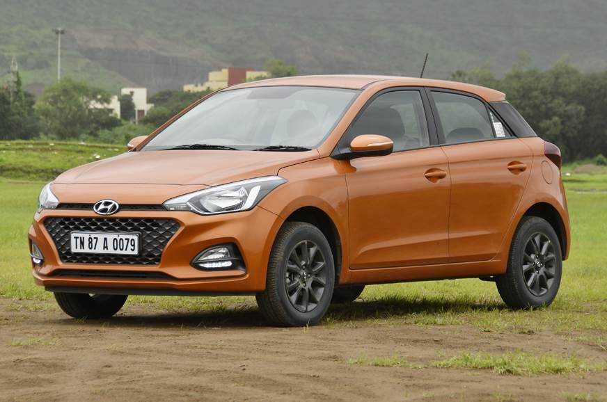 Hyundai i20 front three quarter static