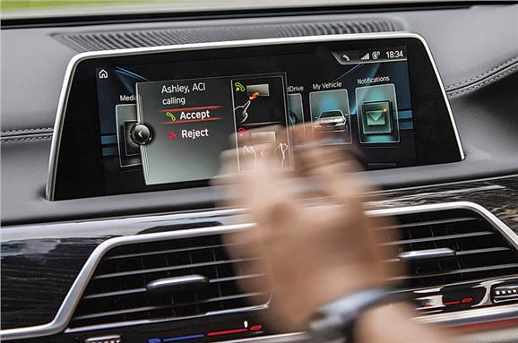 BWM gesture control