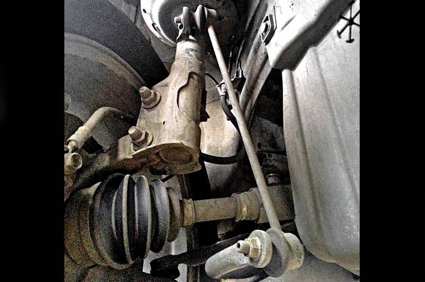 Honda Jazz suspension