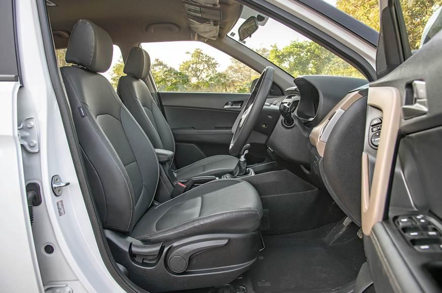 Hyundai Creta used front seat