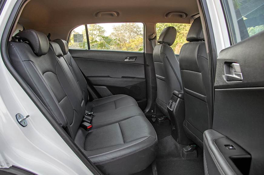 Hyundai Creta used rear seat