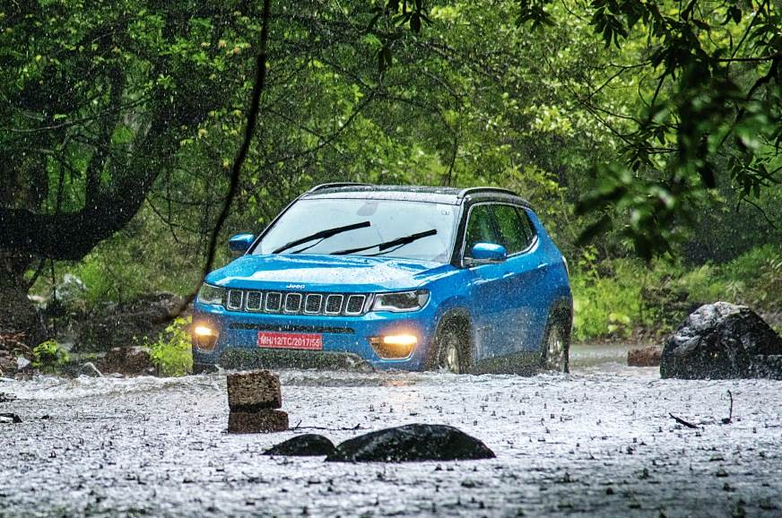 2017 Jeep Compass India off-road experience