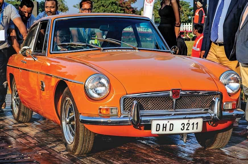 MGB GT (1965)