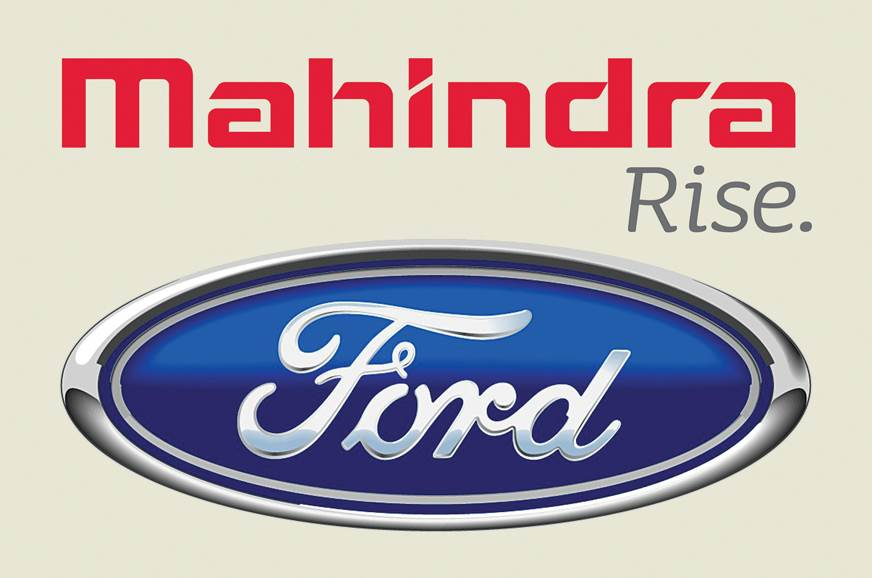 Mahindra Ford logos