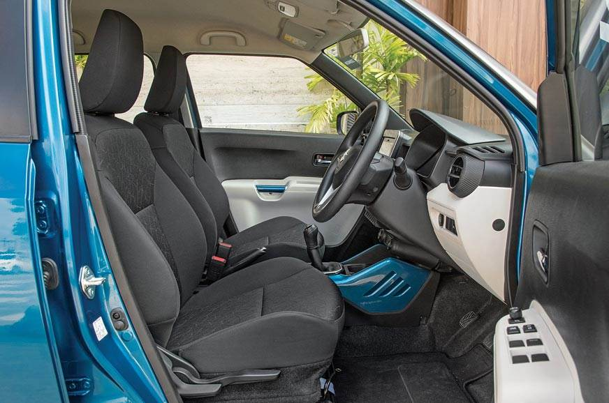 Maruti-Ignis-front-seats