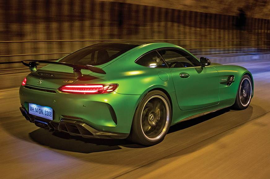 Mercedes-AMG GT R Eastern Freeway tunnel