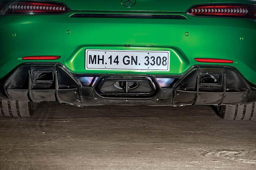Mercedes-AMG GT R rear diffuser