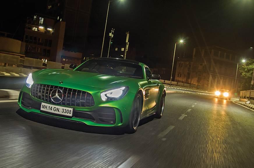 Mercedes-AMG GT R front action JJ flyover