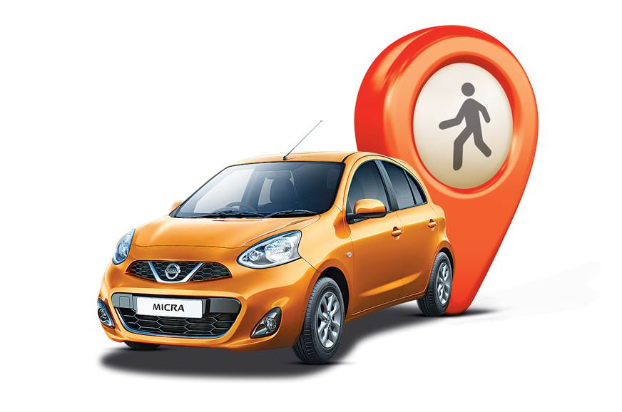 NissanConnect Micra Way to car