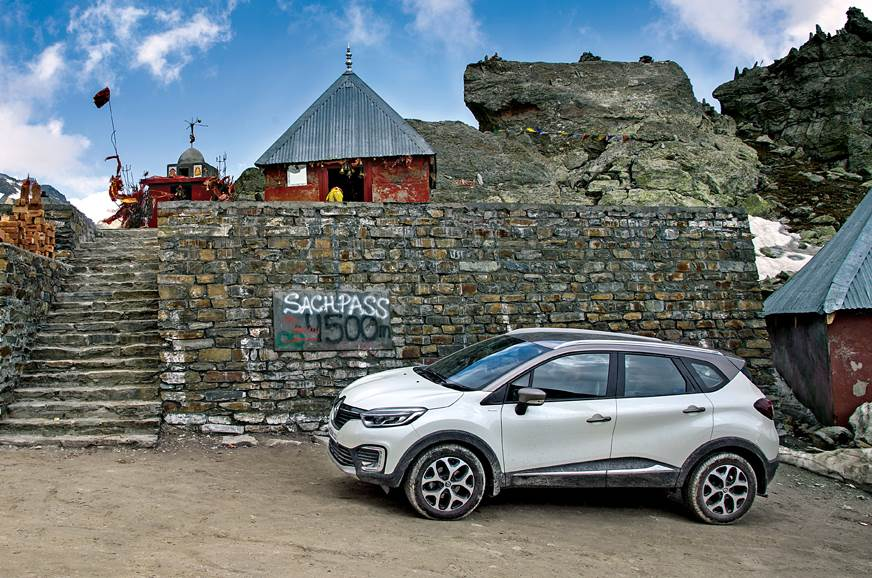 Renault Captur Sash pass