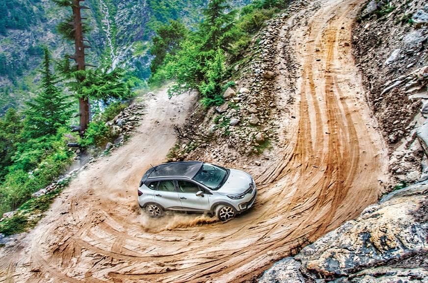 Renault Captur drive