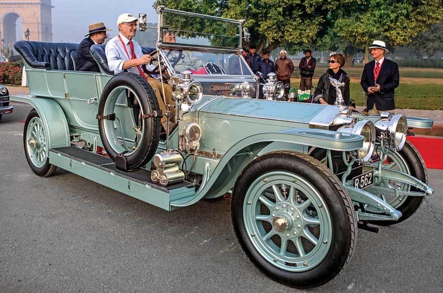Rolls-Royce Silver Ghost (1908)