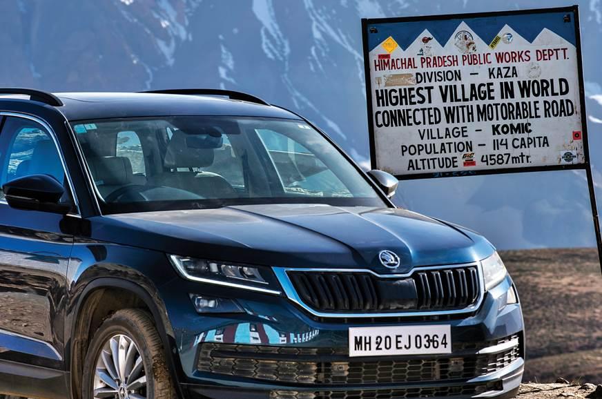 Skoda Kodiaq Himalaya drive