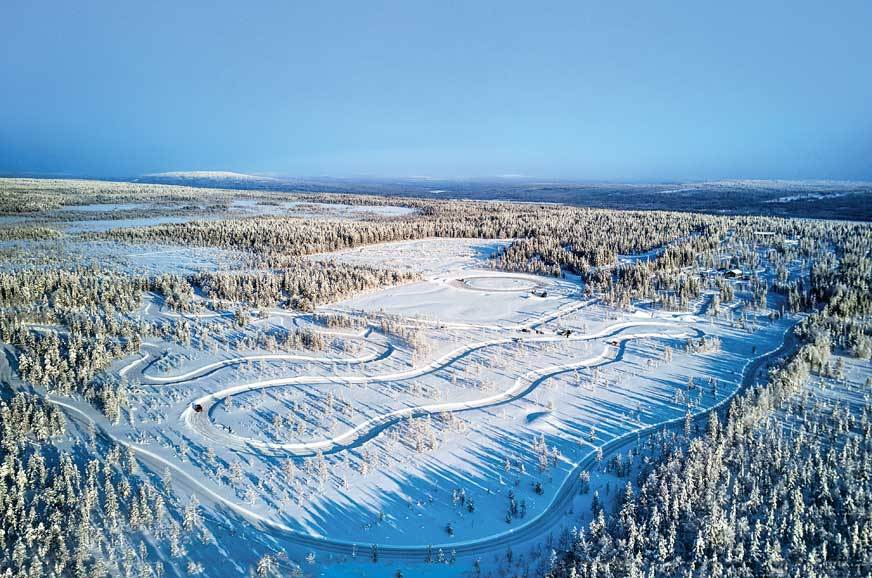 Skoda ice drive