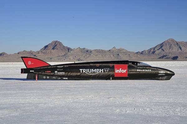 Triumph Infor Rocket Streamliner: Velocitus Maximus