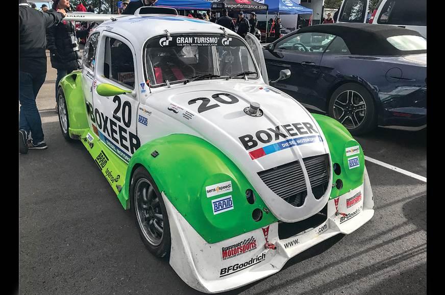 VW Beetle Pikes Peak mod