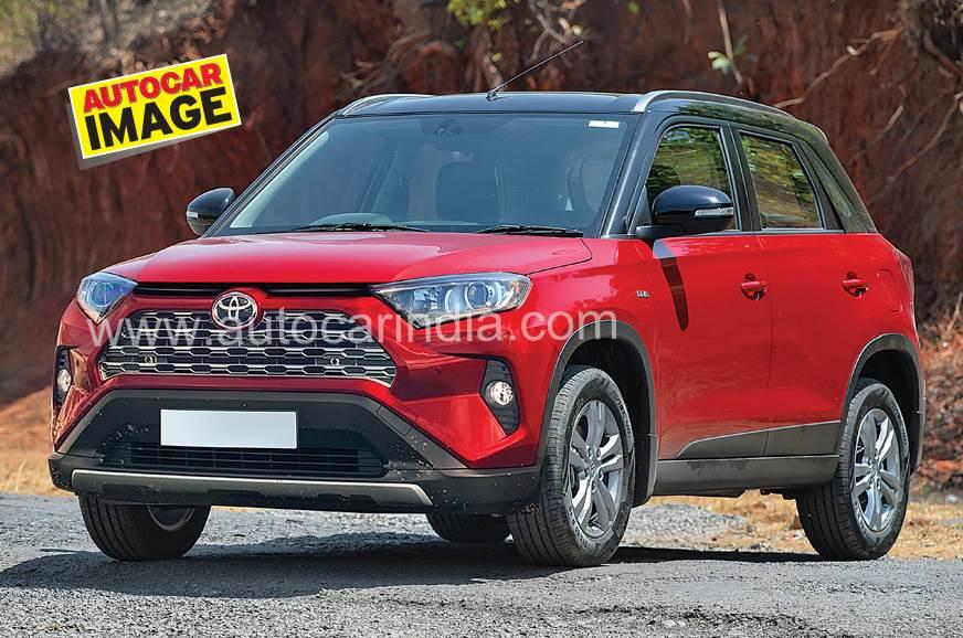 Toyota badged Vitara Brezza ACI render
