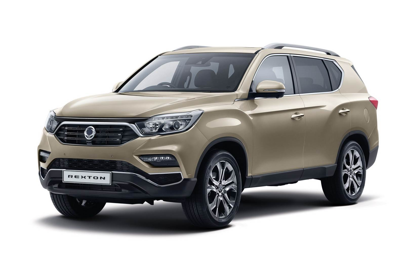 2017 SsangYong Rexton image gallery
