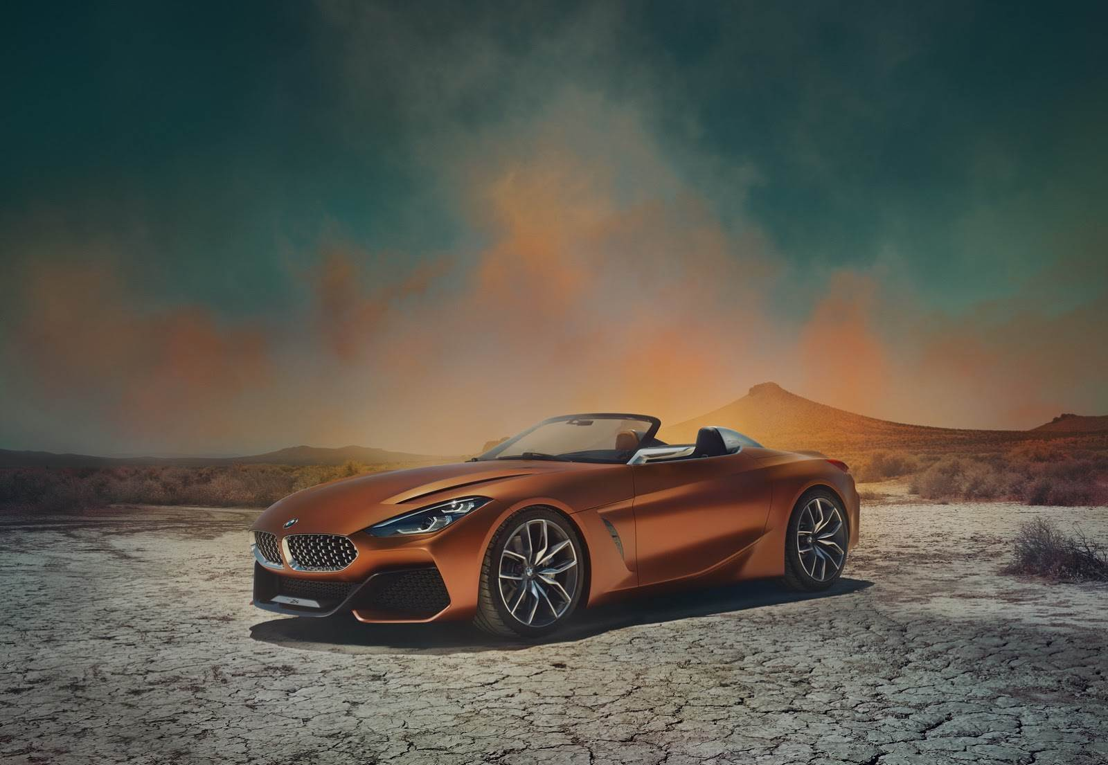 2017 BMW Z4 concept image gallery