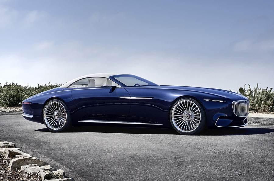Mercedes-Maybach 6 Cabriolet electric concept