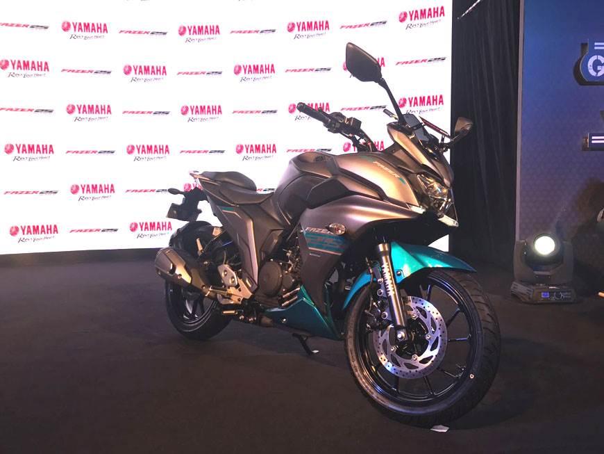 2017 Yamaha Fazer 25 image gallery